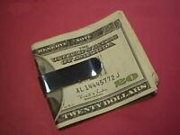 Money Clip Plain, Sterling Silver