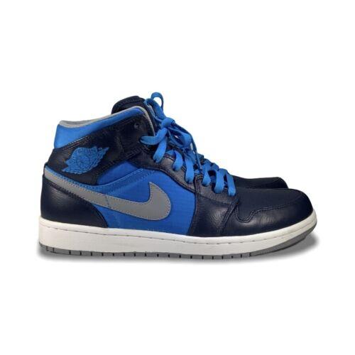 Air Jordan 1 Phat Men's Size 9.5 Mid Obsidian / St