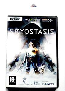 Cryostasis-PC-comme-Neuf-Complet-Parfait-Etat-Videojuego-Videogame-Retro