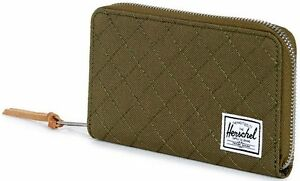 rivenditore di vendita b7aa7 ed773 Details about Portafoglio Donna Verde Herschel Wallet Thomas Quilted  Classics Woman Army Quil