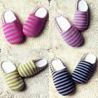 Women Men Home Anti-slip Shoes Warm Cotton Sandal House Indoor Slippers New D56