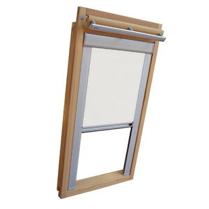 thermo rollo verdunkelungsrollo f r velux dachfenster ggl. Black Bedroom Furniture Sets. Home Design Ideas