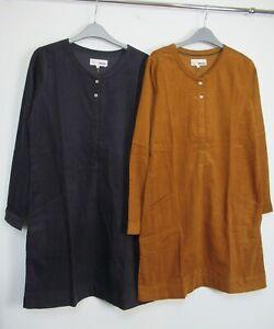 Nuevo-Vestido-Tunica-Cable-Mistral-llano-con-bolsillos-talla-8-18