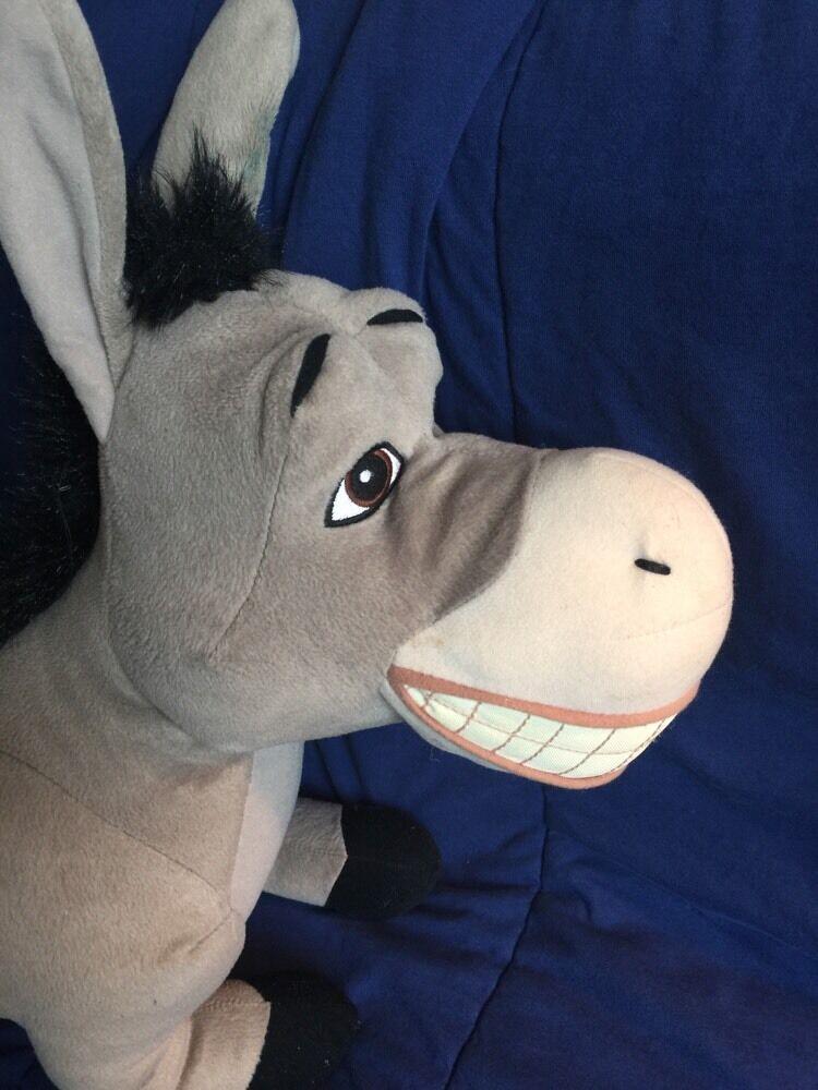 Shrek 2 Jumbo Plush Plush Plush Donkey Hasbro 2004 722d85