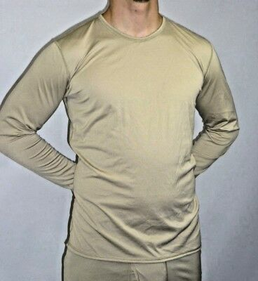 Polartec Long Sleeve Under Shirt Silk Weight Gen Iii Large/reg Good Taste Men's Clothing Activewear