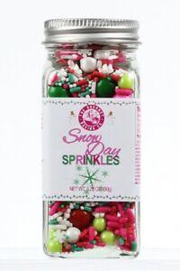 Snow Day Whimsical Blend Sprinkles For Baking /& Decorating Baked Goods
