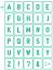 30-Buchstaben-Schablonen-Schriftschablonen-Alphabet-N35-verschiedene-Groessen Indexbild 10