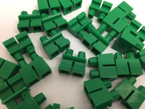 2 Pieces Per Order NEW GREEN Short Mini Figure Legs LEGO