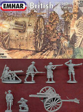 1:72 FIGUREN 7202 BRITISH WWI ARTILLERY+MG 1916-18 - EMHAR