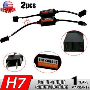 Interior Accessories 2 Pcs Led Light Canbus Error Free Warning Canceler Decoder Load Resistors H7 50w 6Ω New Auto Fastener & Clip