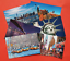 Collection-of-6-New-Glossy-New-York-City-NYC-USA-Postcards-by-Cavalier-94G thumbnail 2