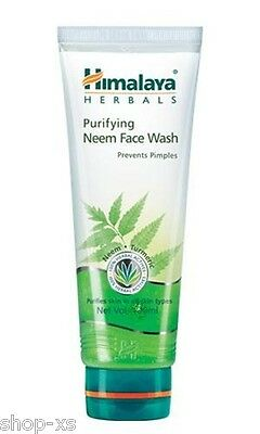 Himalaya Herbals Purifying Neem Face Wash Soap Free clear pimples and acne