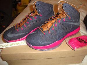 X Ext Cork 10 Black Qs 597806 5 400 7 Uk 5 Lebron 42 Us 8 Nike Denim Suede 2013 wBIfx6qE