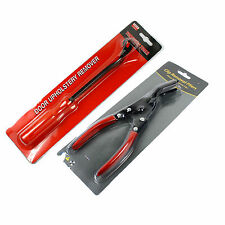 Car Door Panel Upholstery Remover Pry Bar Tool & Trim Clip Removal Pliers