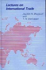 Lectures on International Trade Bhagwati, Jagdish, Srinivasan, T. N. Hardcover