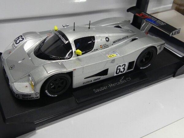 1 18 limpio norev-Mercedes c9 winner France 24h 1989 Mass Reuter dickens 183442