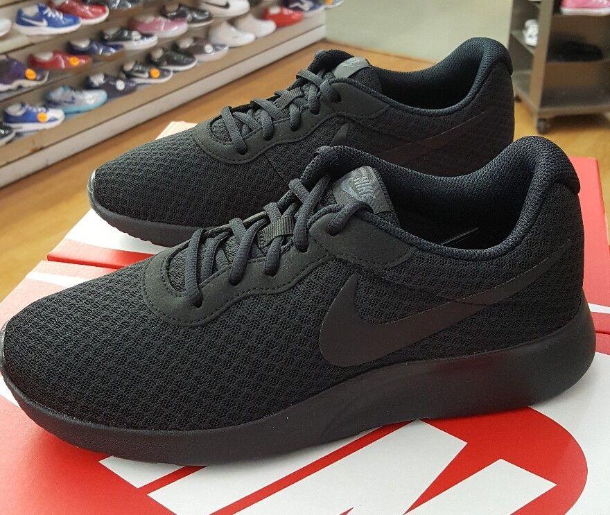 Nike tanjun 812654 001 schwarz/schwarz männer us - sz - 8