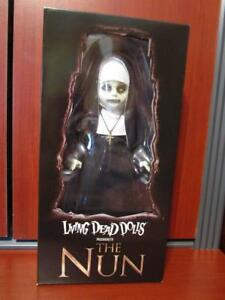 NEW-Mezco-Living-Dead-Doll-THE-CONJURING-2-The-Nun-MINOR-BOX-CORNER-ISSUES