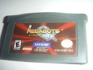 Medabots-AX-Metabee-Ver-Nintendo-Game-Boy-Advanc-SP-DS-Lite