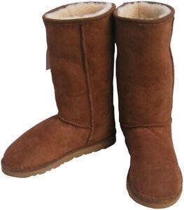 8d849de9803 Classic Tall Chestnut Ugg Boots Australian Sheepskin Ladies Men ...