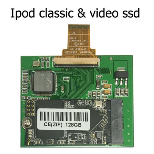 NEW 1.8 Inch 128GB CE SSD Replacement TOSHIBA MK1231GAL MK1634GAL only for ipod