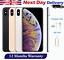 Apple-iPhone-XS-Max-64GB-256GB-512GB-Telefono-inteligente-Desbloqueado-Oro-Gris-Plateado miniatura 1