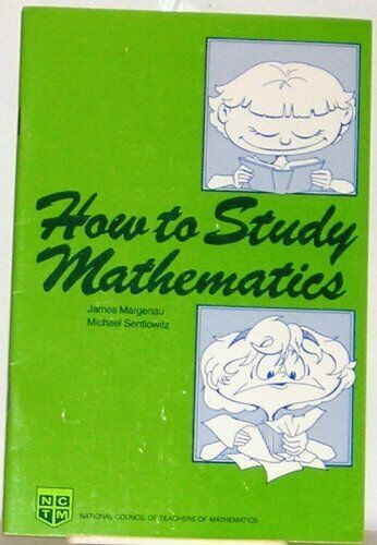 How to Study Mathematics  A Handbook for Students