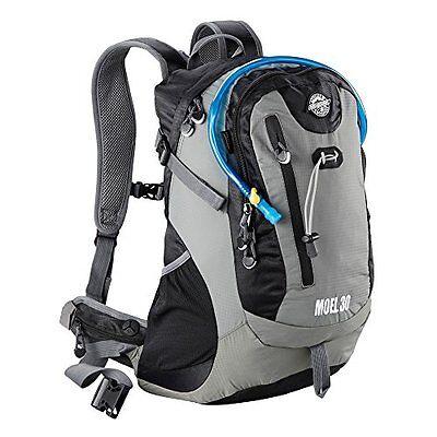 Aquabourne Moel 30L Backpack with Integral Water Bladder and Waterproof Rain