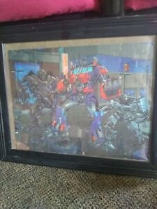 FRAMED-COMPLETED-TRANSFORMERS-CARTOON-JIGSAW-PUZZLE