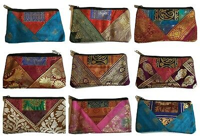Handmade Real Suede Leather Coin Purse Made in India Boho Style Fair Trade
