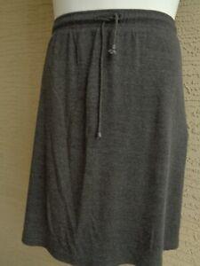 Woman Within Plus L 18-20W  Soft Cotton Blend Sport Knit Stretch Waist Skort