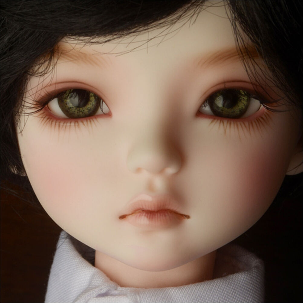 [Dollmore] 1 4 BJD Dollmore Kid Muñeca Cabeza-Boy Geoul (Maquillaje)