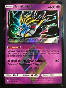 Carte-Pokemon-GIRATINA-58-156-PRISME-Soleil-et-Lune-5-SL5-FR-NEUF