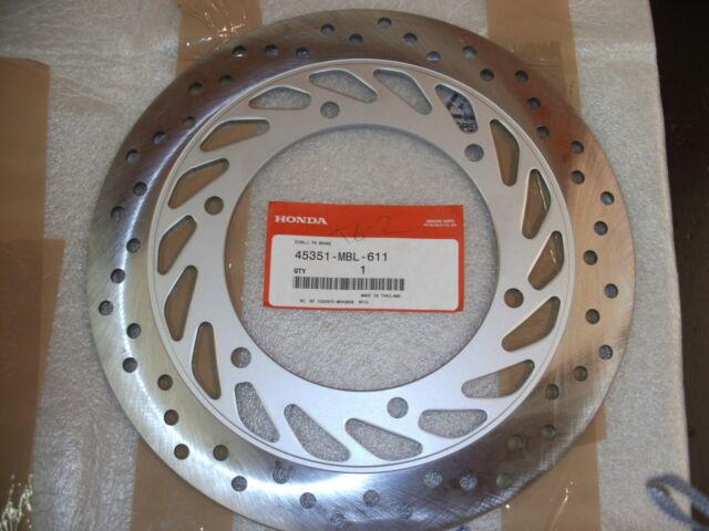 GENUINE HONDA NT650 DEAUVILLE FRONT L//H BRAKE DISC BRAND NEW