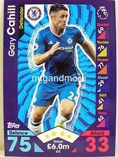 Match Attax 2016/17 Premier League - #060 Gary Cahill - Chelsea FC