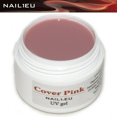 7ml Make-up Gel NAIL1EU COVER PINK/ Camouflage UV Nail makeup
