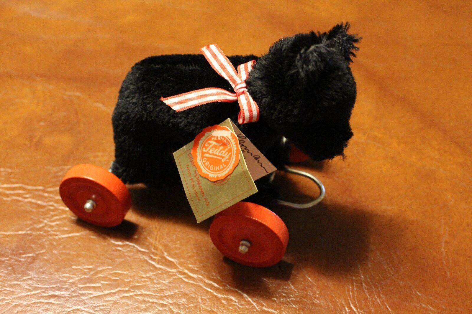 Hermann Teddy Bear Made in West Germany on Wheels - NICE