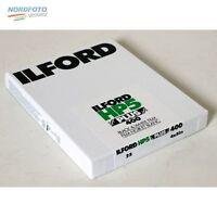 Ilford Hp5 Plus 400 Schwarzweißfilm, 4x5inch / 10,2x12,7cm, 25 Blatt