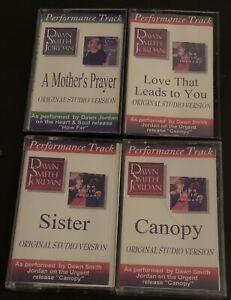 Dawn Smith Jordan Performance Track Original Studio Version Lot of 4 Cassettes