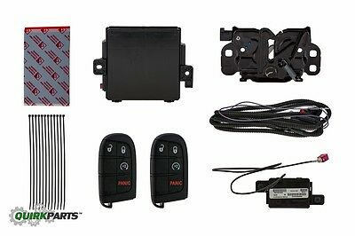 2014 Jeep Grand Cherokee COMPLETE REMOTE START KIT SAME AS PRODUCTION NEW MOPAR