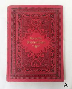 1893-Sonnenthau-by-Franz-Ehegasser-Sundew-German-Poetry