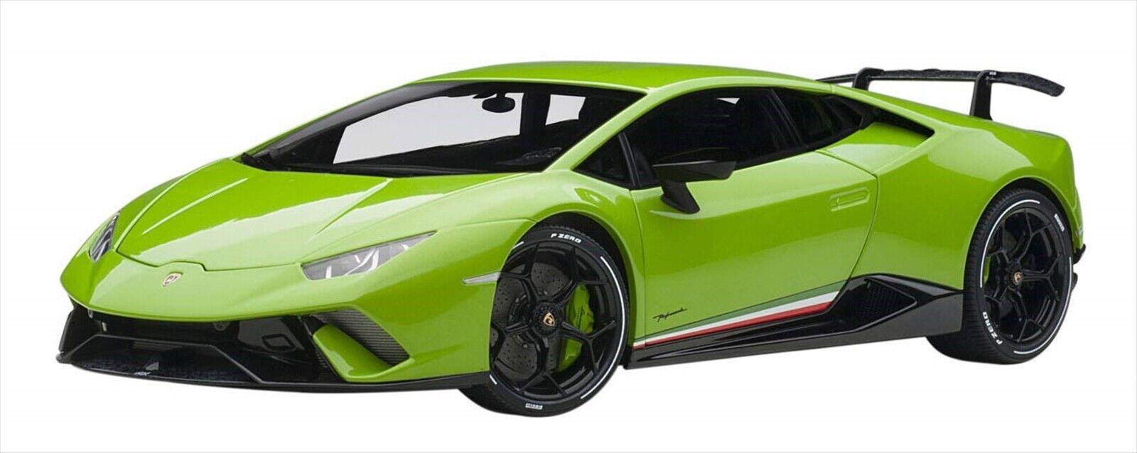 Autoart 1 18 Lamborghini Huracan Temps verde 79154 Nuevo