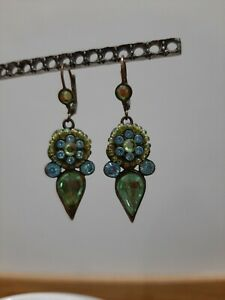 Michal-Negrin-Vintage-Style-Crystal-Earrings