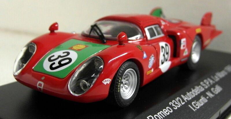 Top Model 1 43 échelle TMC246 Alfa Romeo 33.2 Le Mans 1968  39 résine modèle voiture