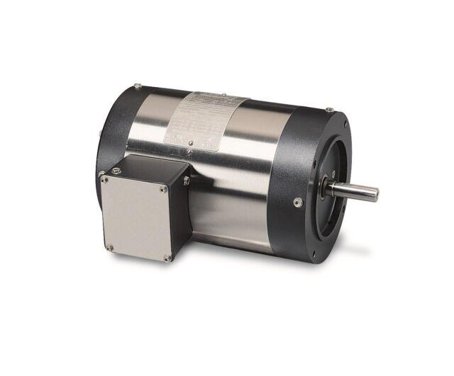 Leeson Electric Motor 113891.00 1.5 HP 3450 Rpm 3PH 208-230//460 Volt 56J Frame