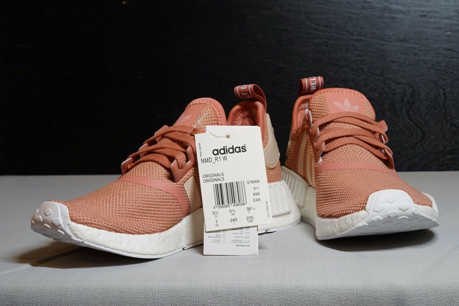 7f760efdfc188 ... ADIDAS NMD NMD NMD R1 Raw Pink Rose Salmon Peach women shoes   USA  SELLER   ...