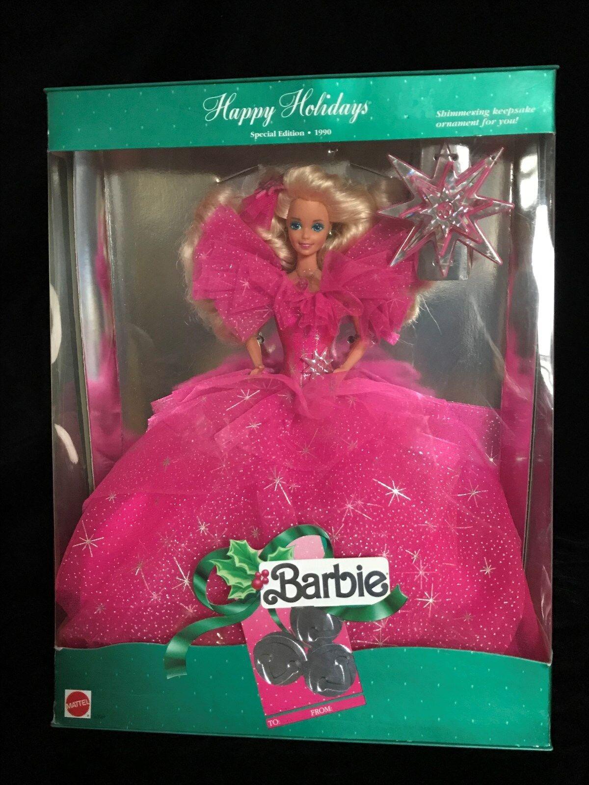 Mattel 1990 Barbie Felices Fiestas 3rd en serie de colección