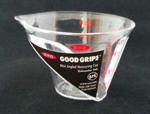2-OZ-approx-56-70-g-Cocina-amp-Bar-Professional-Mini-Taza-de-medir-en-angulo-Jigger-tiro-Multi