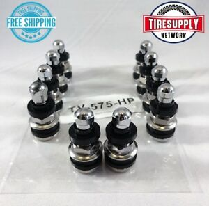 """100 Standard Bore Clamp-In Tire Valve Stem  2"""" In .453 Hole for utility trucks"""