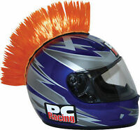 Pc Racing Helmet Mohawk Street Bike Dirt Bike Orange